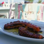 Grilled Octopus - the best we had in Greece