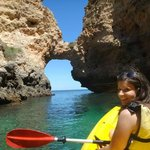 Kayaking in the grottos