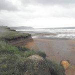 Beautiful Widemouth Bay near Bude