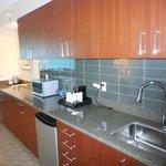 Kitchen of suite