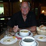 set menu soup starter