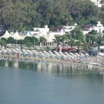 Gumbet Beach - general view
