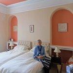 The attractive bedroom