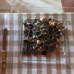 pasta al nero di seppia con vongole e spinaco FENOMENALE!!!!