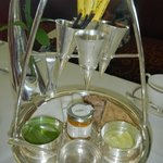 high tea at Burj al Arab