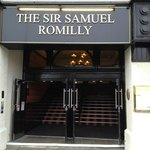 Foto di Sir Samuel Romilly
