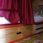 sleeping bunk at Masaya