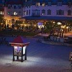 La Place Saint-Bernard at night