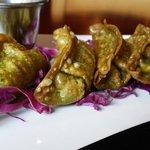 Fried Vegan dumplings