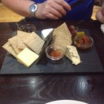 West Country cheeseboard