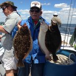 Sea Horse Party Boat Atlantic Highlands Fluke. Capt. Ed Bunting Capt Jack Bevins