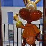 Room 203 - bunny on the balcony