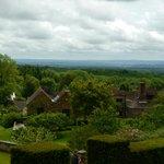 views withs studio cottage (far left)
