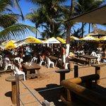 Bar da Pipa, na praia do Flamengo