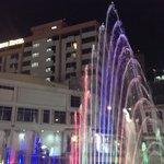 hotel night scene