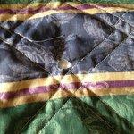 Burned blanket