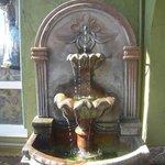 Fontaine à l' entrée