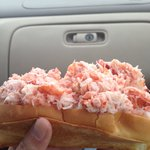 Nice lobster roll