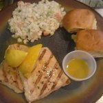 scrumptious grilled salmon with summer slaw