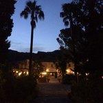 evening at hotel