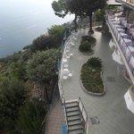Hotel Balcony Food & Drinks Area