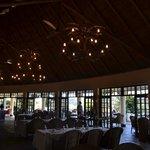Inside the lodge...