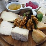Cheese platter (for one!)