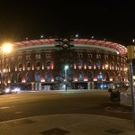 Arenas de Barcelona - a ten min walk from hotel and a plethora of eateries and places for the la