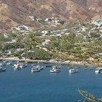 Vista desde el mirador a la bahía de Taganga