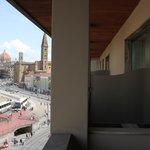 view from my balcony toward city center