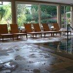 siège pré de la piscine