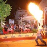 Turkish night at Evin