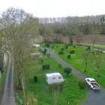 viwe of some of the camping pitches