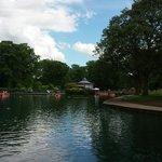 Boats & cafe Lister Park