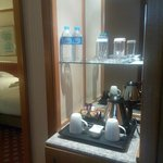 Amenities in the room and free water