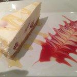 Dessert - yummi cheesecake