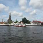 View of Wat Arun from Tha Tien Ferry Pier