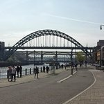 The Quayside - Tyne Bridge