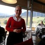 Margo, our lovely waitress.
