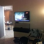 2nd flat screen TV in  suite room