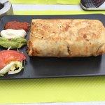 Burrito  frit un régal à la Bamba!