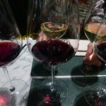 My selction of Reds; the 2004 Reserva was the best wine here