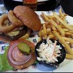 Bbq burger...Hucks
