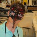 Hayden's mask