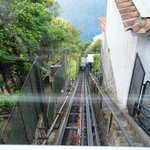 funicular to beach and rooms