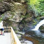 Capturing video of Dingmans Falls