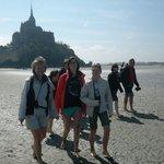 Mont Saint Michel vu de l'autre côté