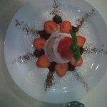 Ristorante sirio dessert fragole