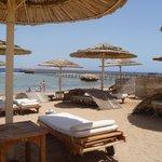 hotel beach....
