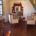 Wohnzimmer mit Stilmöbeln